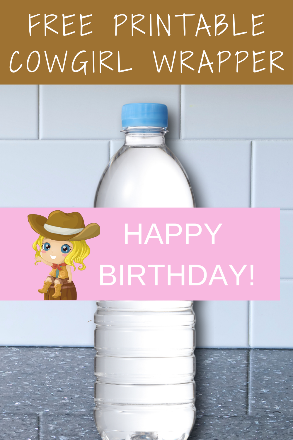 first birthday cowgirl printable birthday party decoration ideas