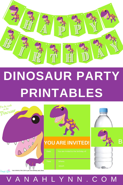 dinosaur 1st birthday party ideas for a little girl
