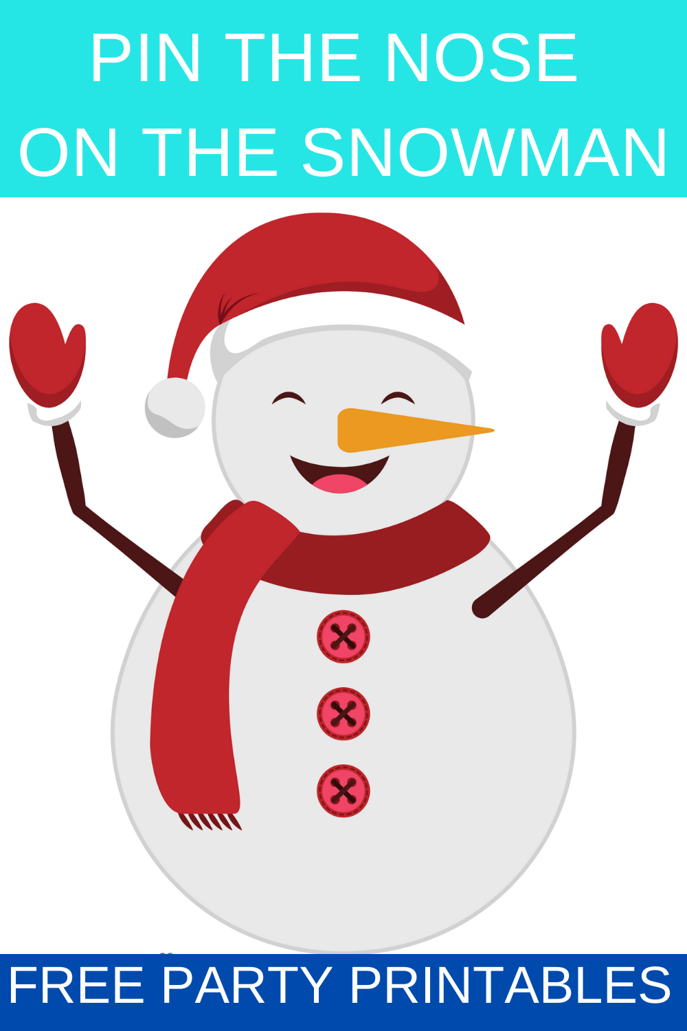 snowman party games for kids