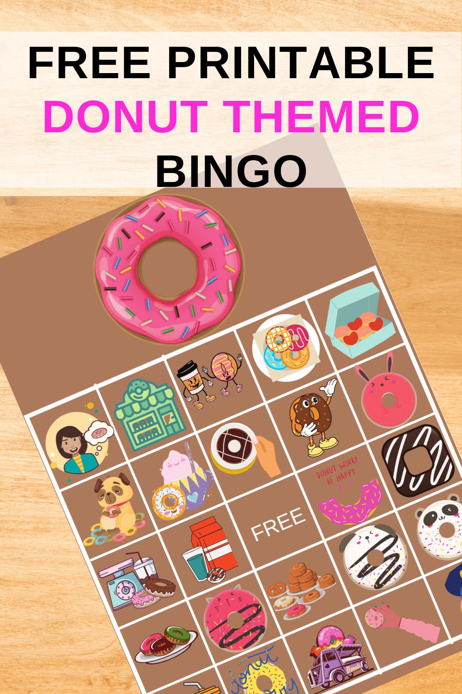 doughnut bingo
