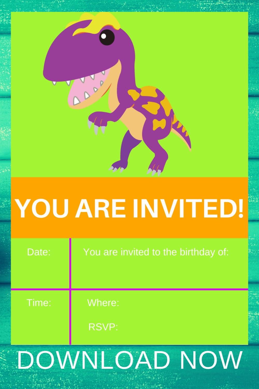 1st birthday dinosaur for a little girl