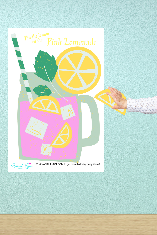 pink lemonade birthday party games free