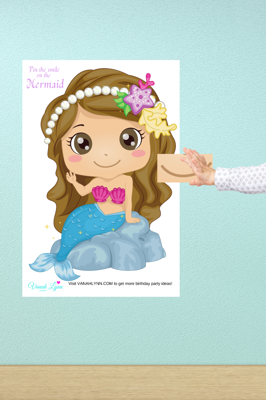mermaid birthday party activities for kids