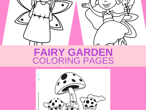 10 FREE Printable Fairy Coloring Pages - Get Them Now for a Rainy Day