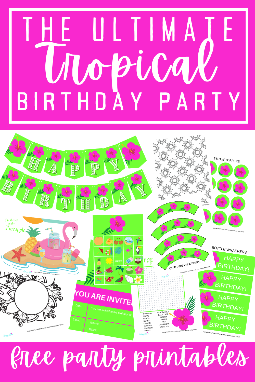 kids birthday party ideas and supplies
