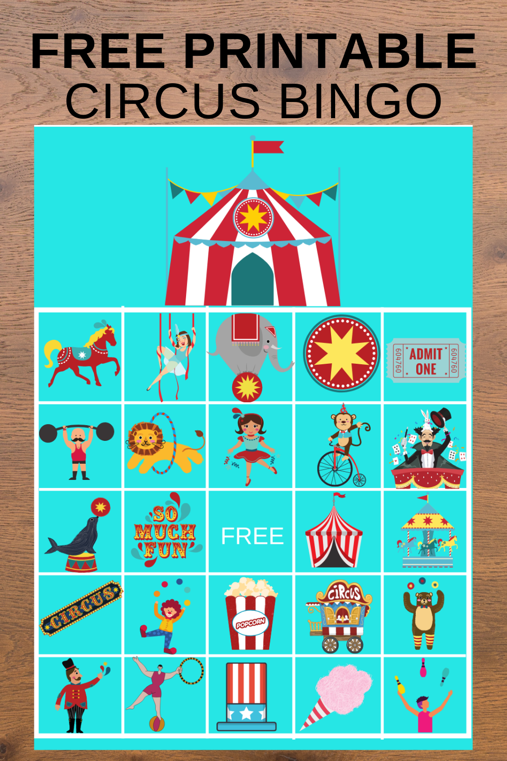 1st birthday circus themed birthday party games