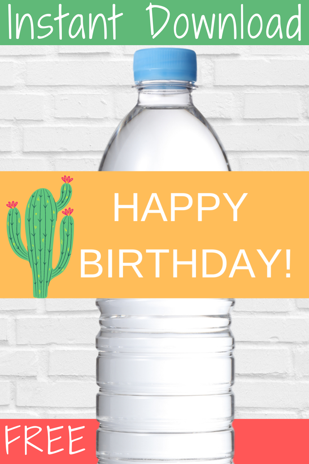 free download: fiesta themed birthday party décor