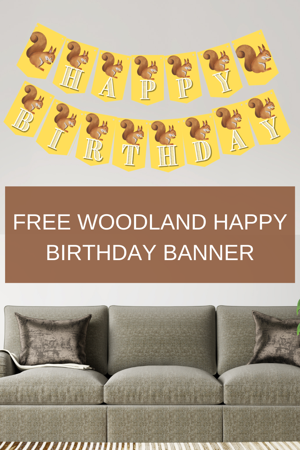 free printable 1st birthday party decorations