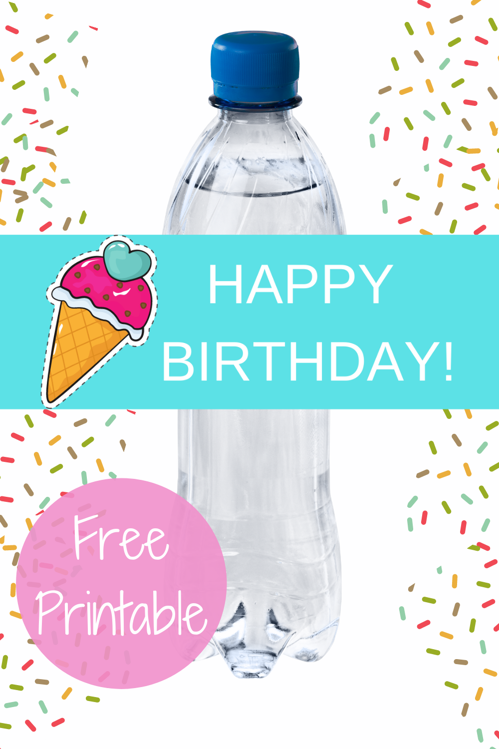 free download: ice cream birthday party decorations