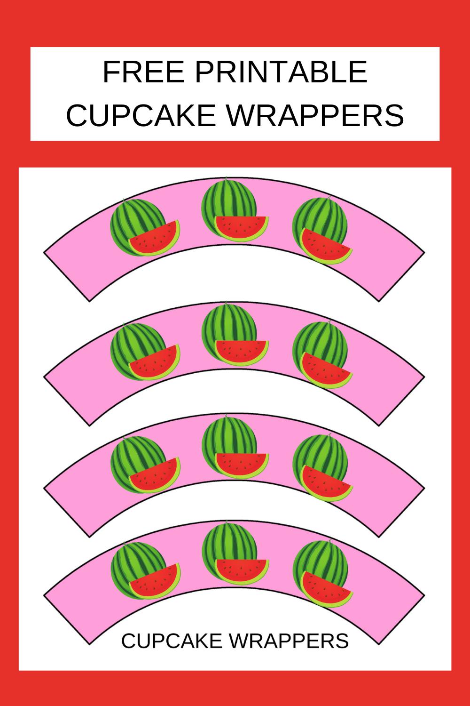 watermelon birthday party decorations free printable