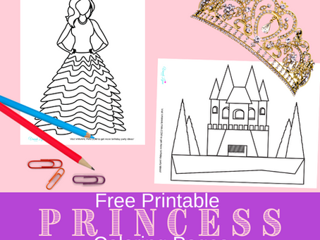 Princess Coloring Pages | Freebies