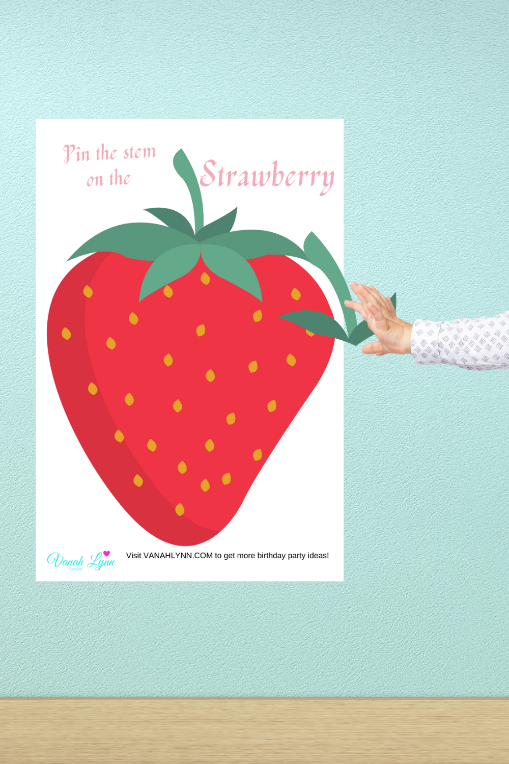 free printable strawberry birthday party activities for kdis