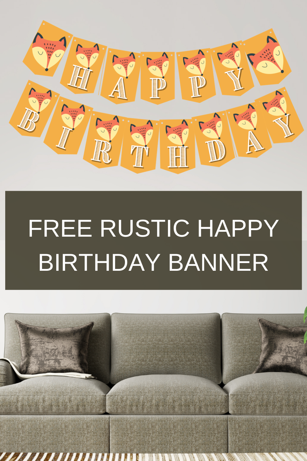 happy birthday banner for birthday party decorations