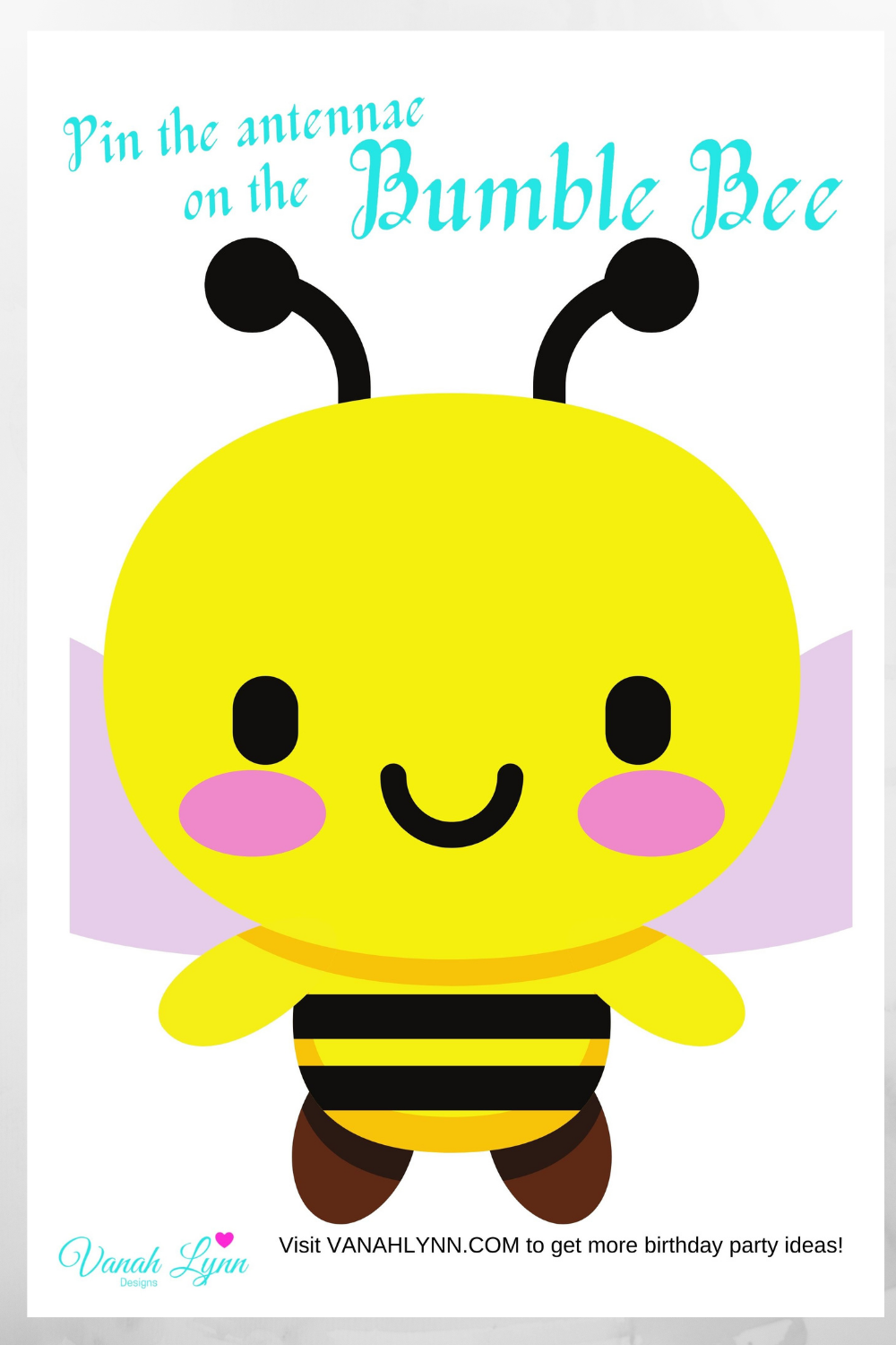 bumble bee 1st birthday party activities for kids
