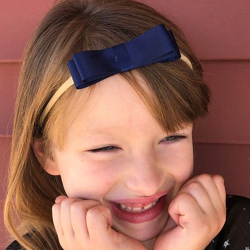 navy blue hair accessories