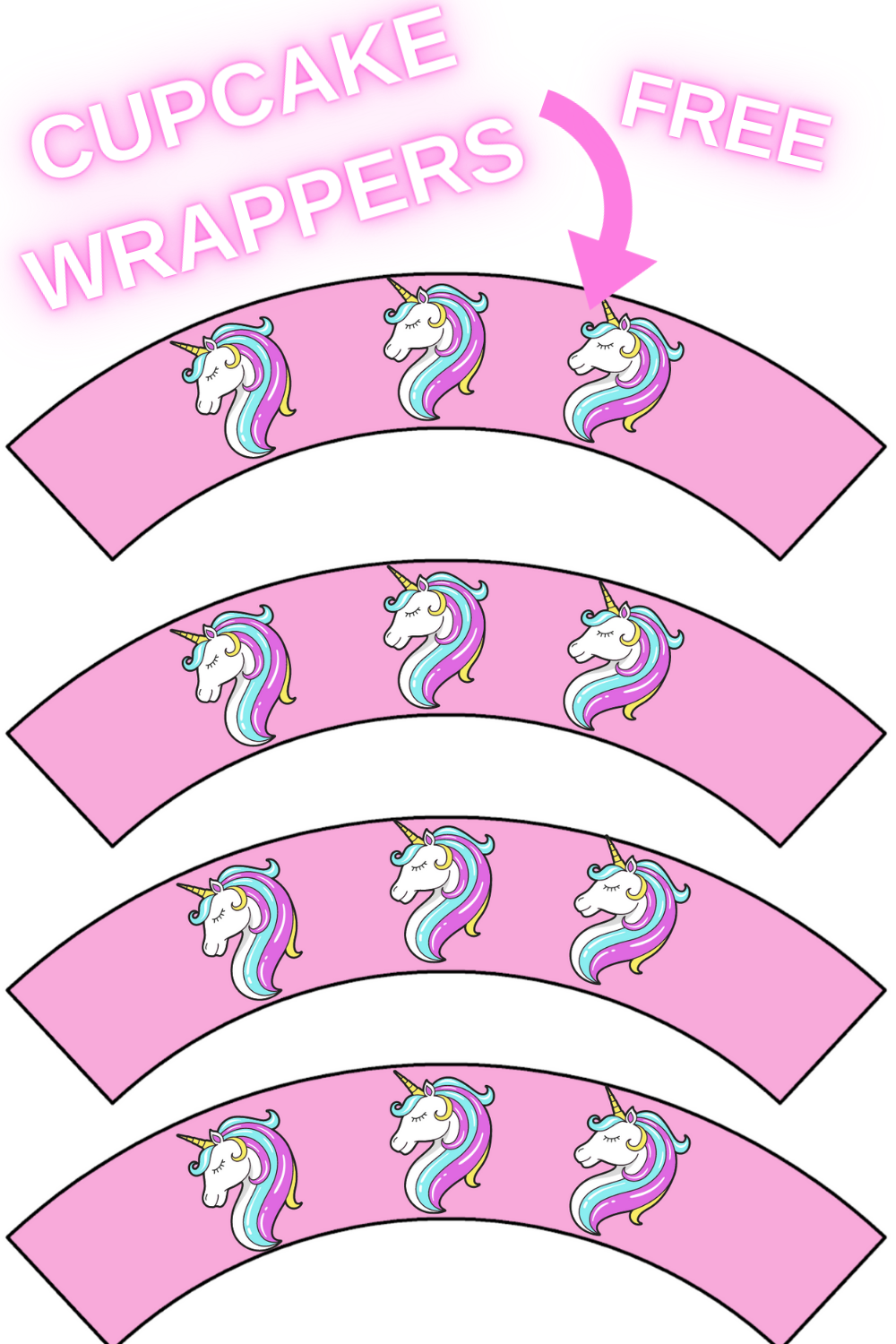 pink party decorations for a unicorn first birthday party