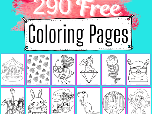 All Coloring Pages - 290 FREE Coloring Pages for Kids of All Ages