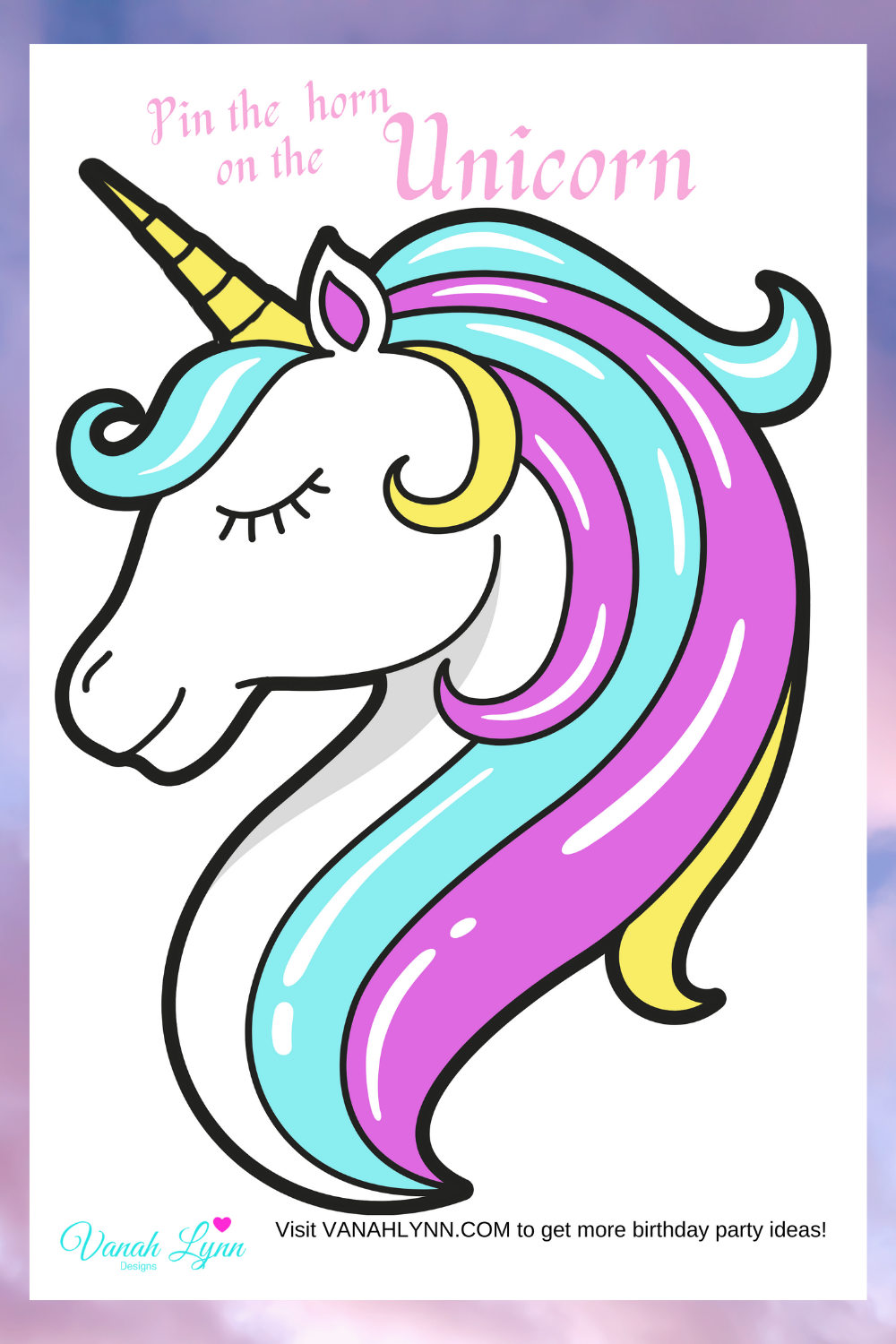 unicorn birthday party for kids