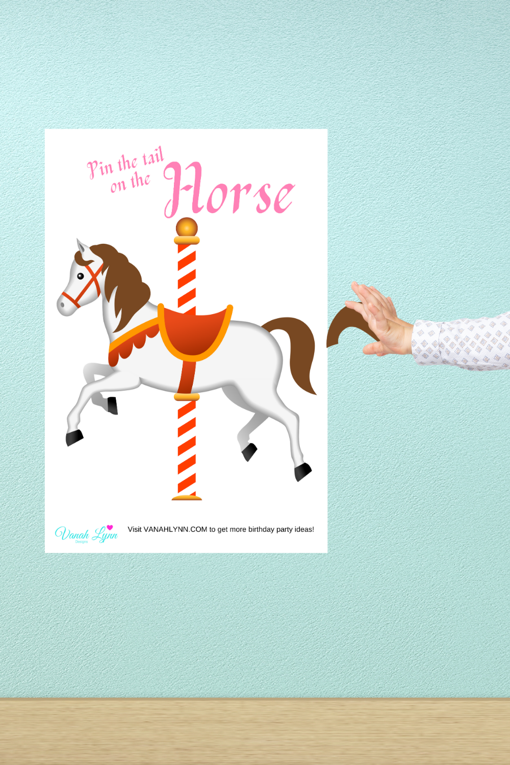carousel birthday party activities for kids
