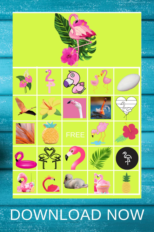 tropical flamingo birthday party activities ideas for preschool birthday party