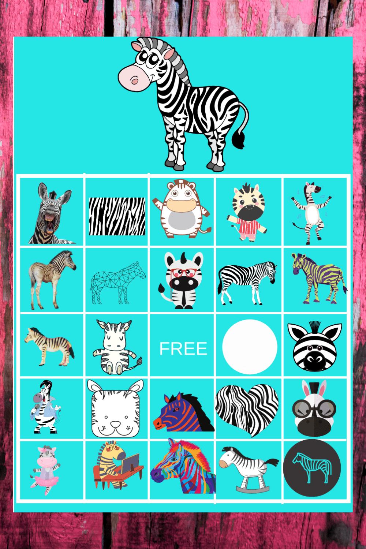 zebra party games