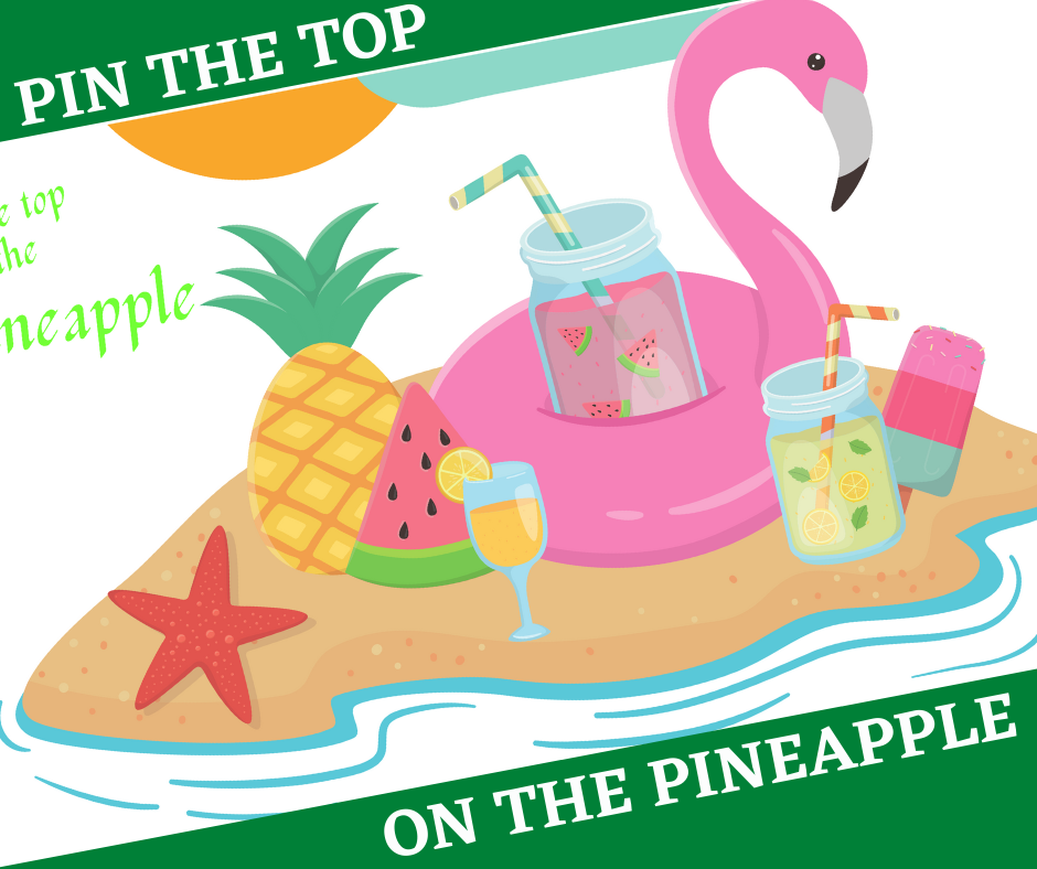 free printable tropical party game