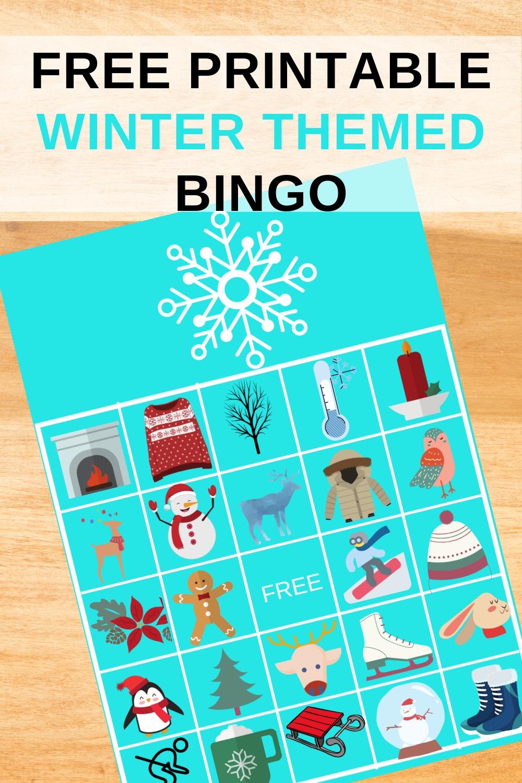 free printable winter birthday party activity ideas