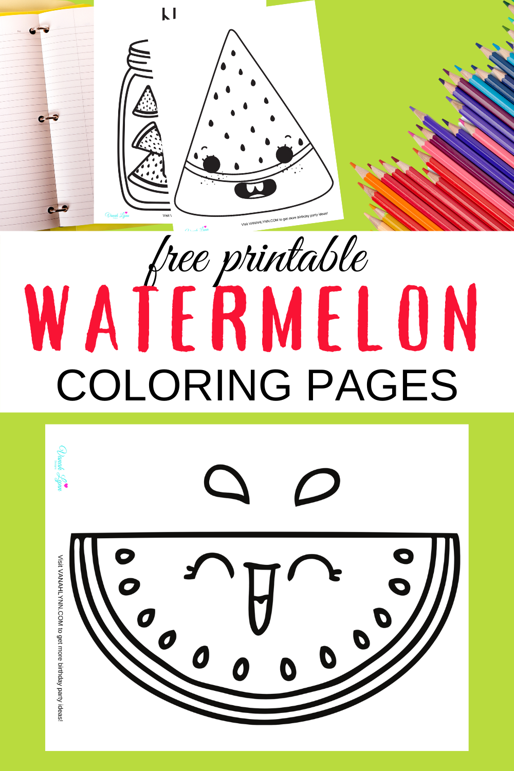 1st birthday watermelon birthday party ideas for toddlers
