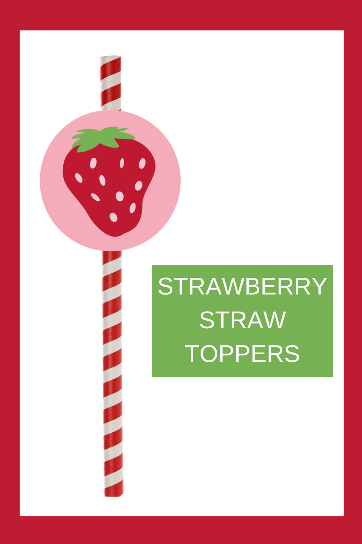 strawberry 1st birthday decoration ideas