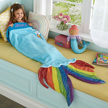Customizable rainbow fishtail