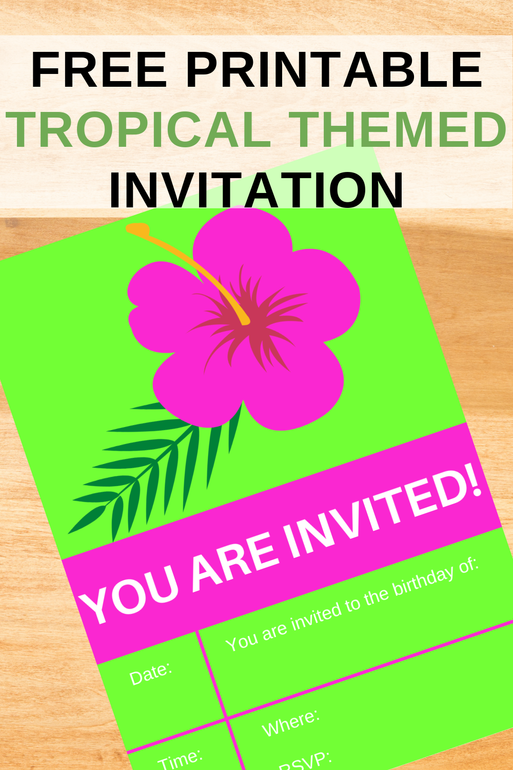 first birthday party invite for a toddler girls birthday party