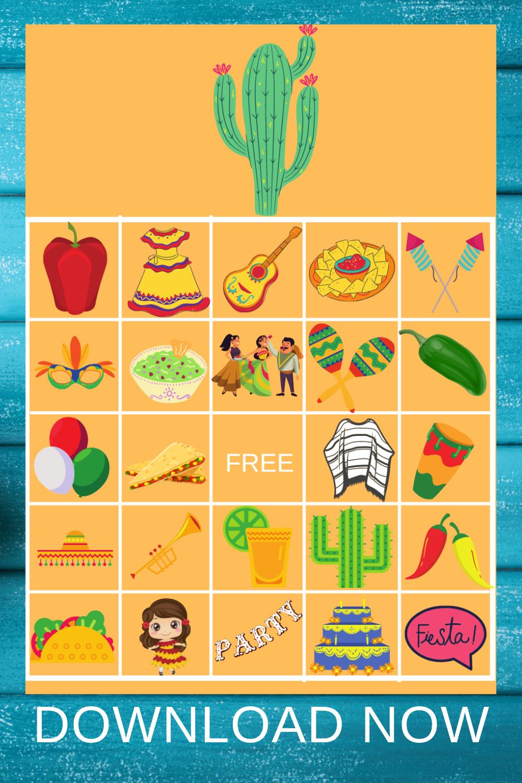 free printable fiesta birthday party ideas for preschooler