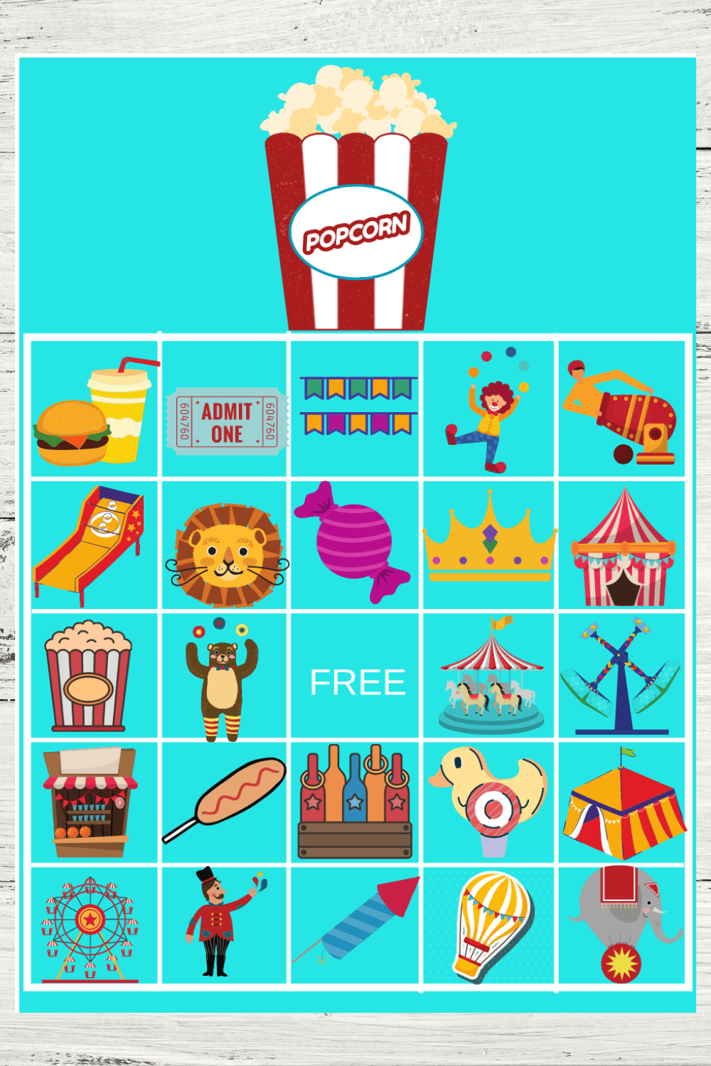 carnival themed birthday party game ideas