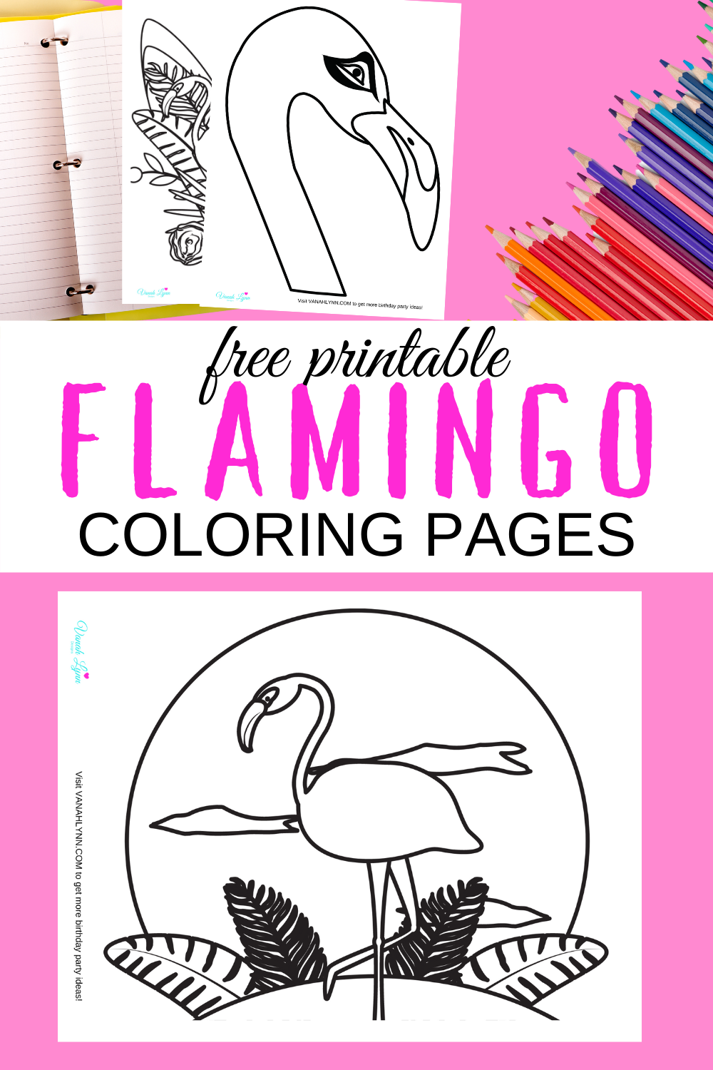 tropical flamingo birthday party ideas for kids