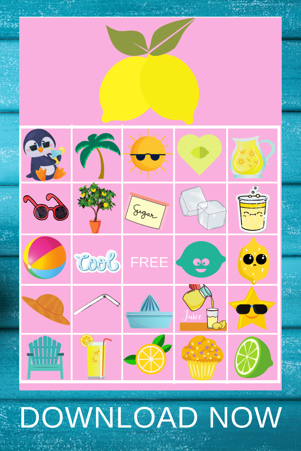 Summer themed birthday party games