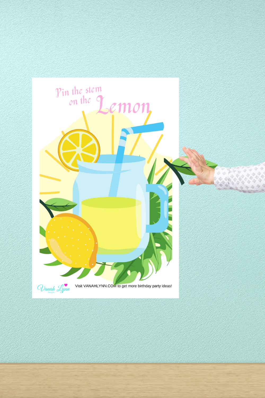 lemonade birthday party activities for kids