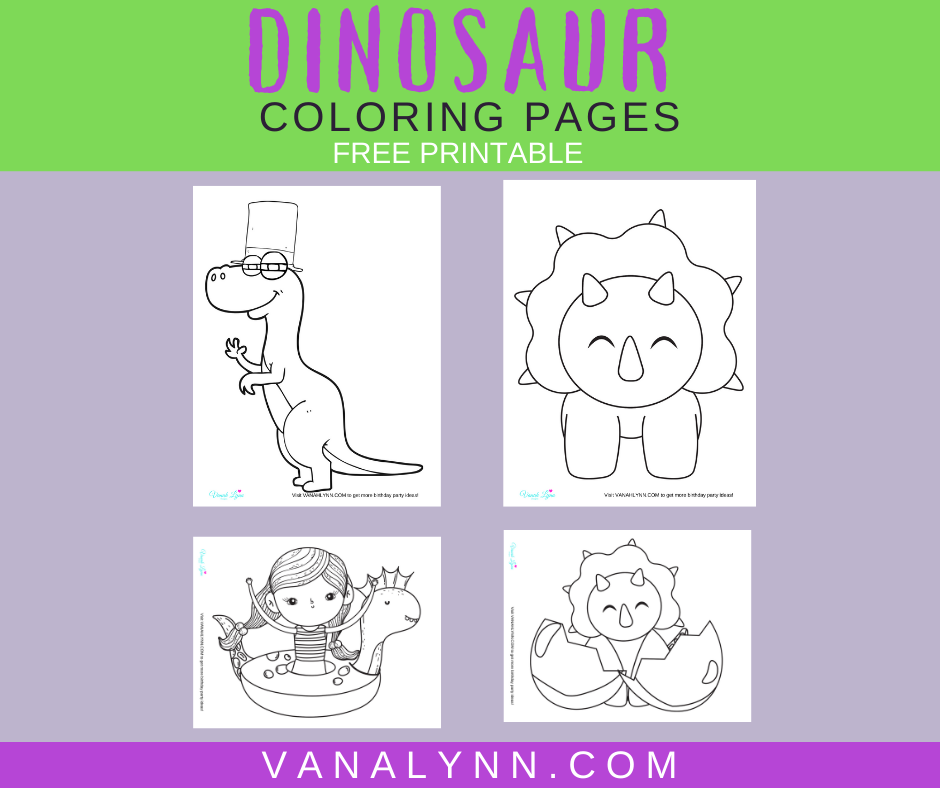 dinosaur coloring pages for small child