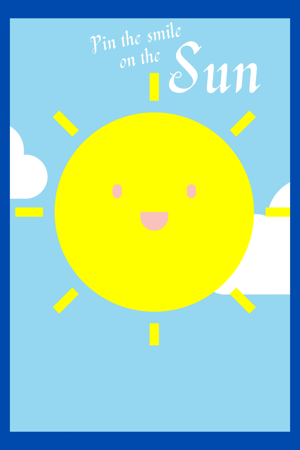 sunshine birthday party game ideas for kids