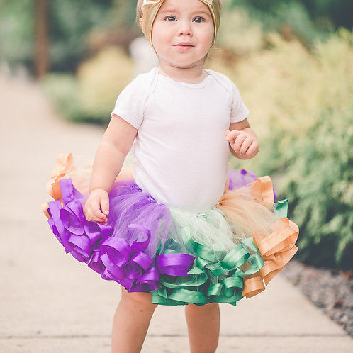 1st birthday girl mardi gras outfit