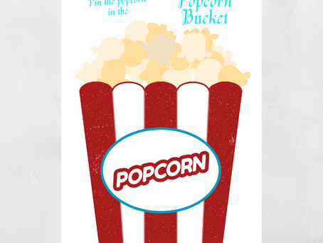 Pin the Popcorn to the Bucket | Carnival Party Game | Carnival Birthday Party Activity