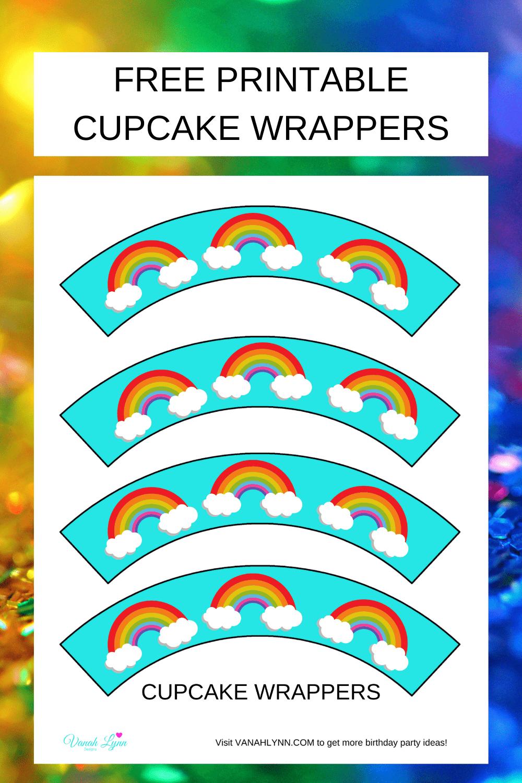 DIY rainbow party decorations