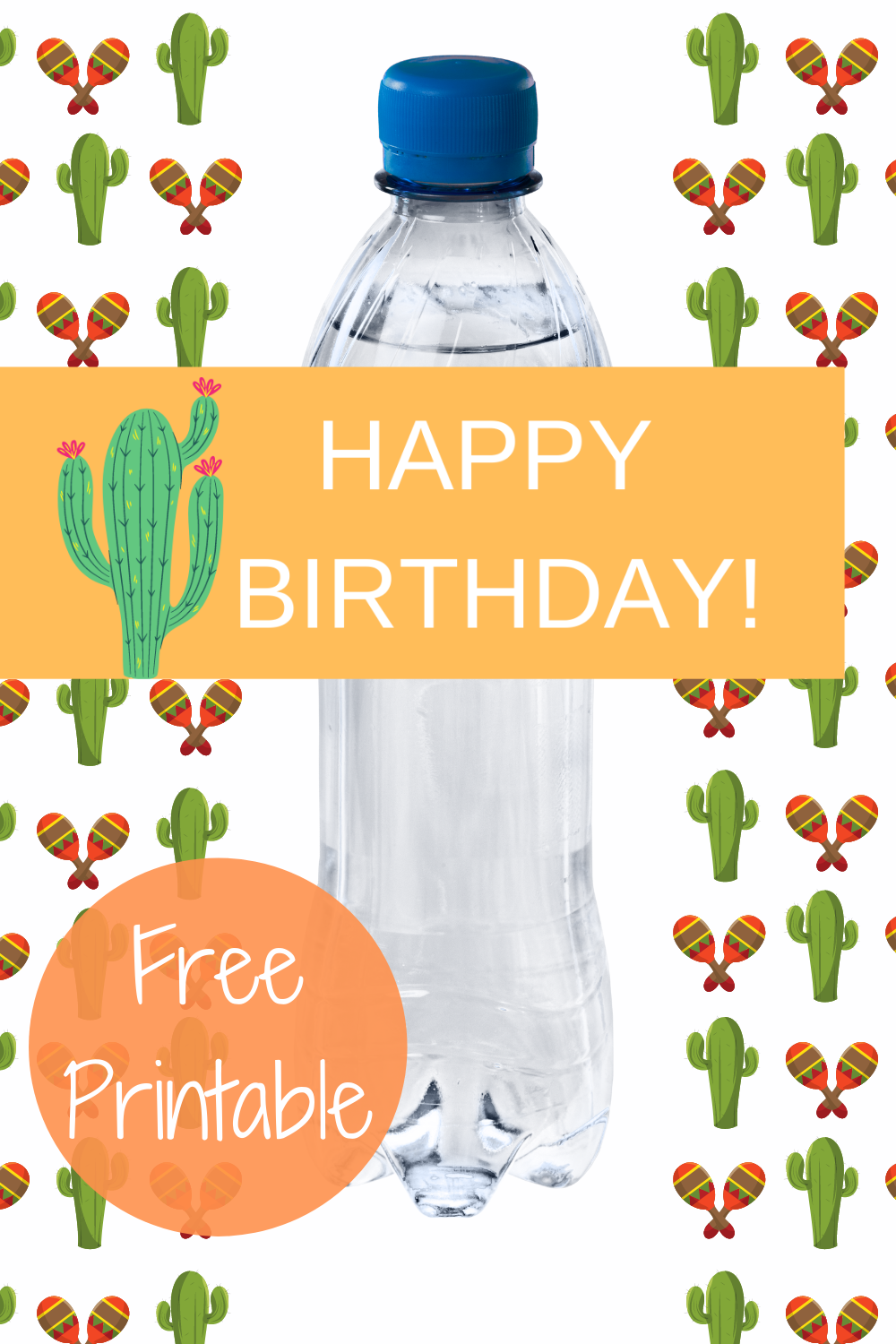 free printable fiesta birthday party decorations