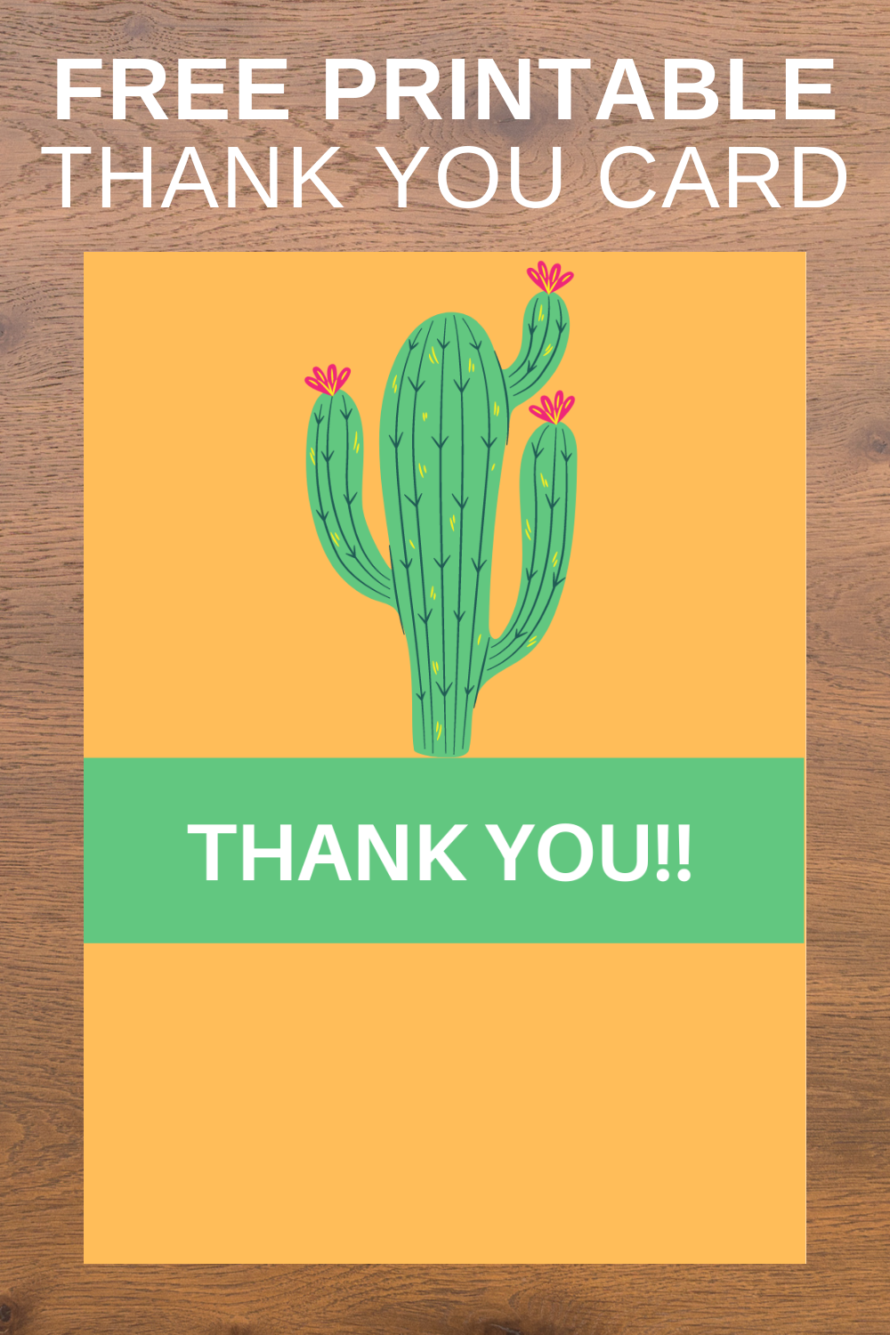 first birthday fiesta for a little girl, thank you card printable