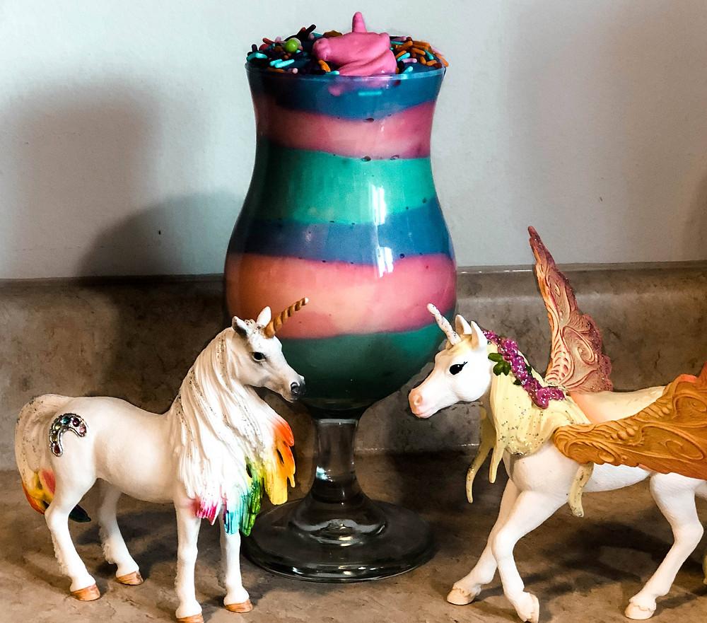 unicorn magic pudding