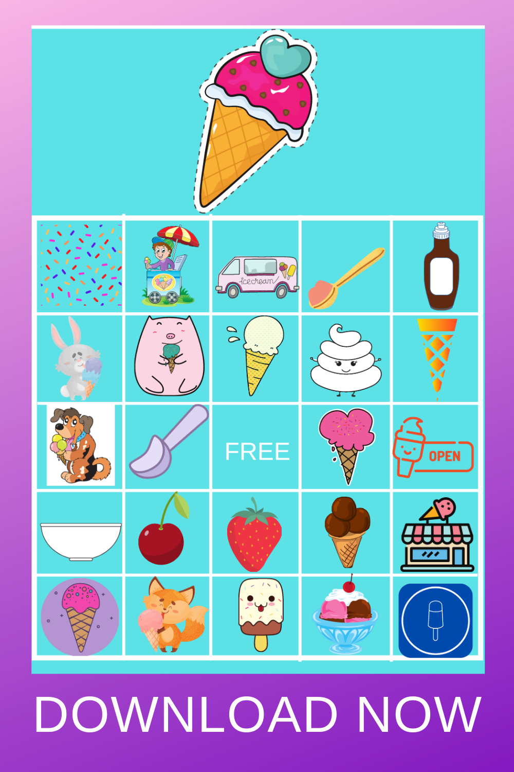 ice cream themed birthday party ideas for toddler party