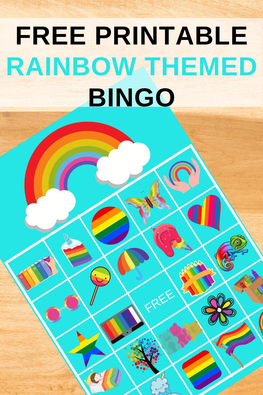 rainbow birthday party ideas games