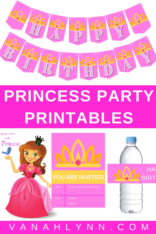 little girl princess birthday party ideas