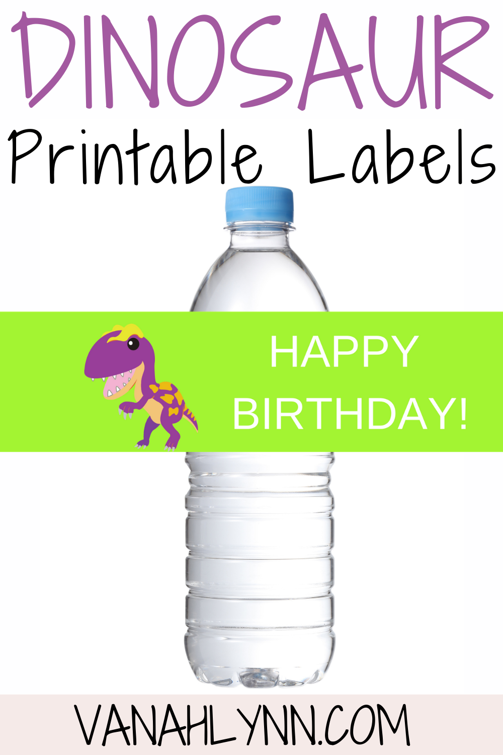 free printable dinosaur birthday party decorations