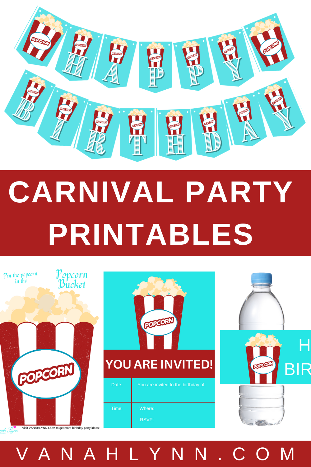 carnival birthday party games for a toddler birthday party