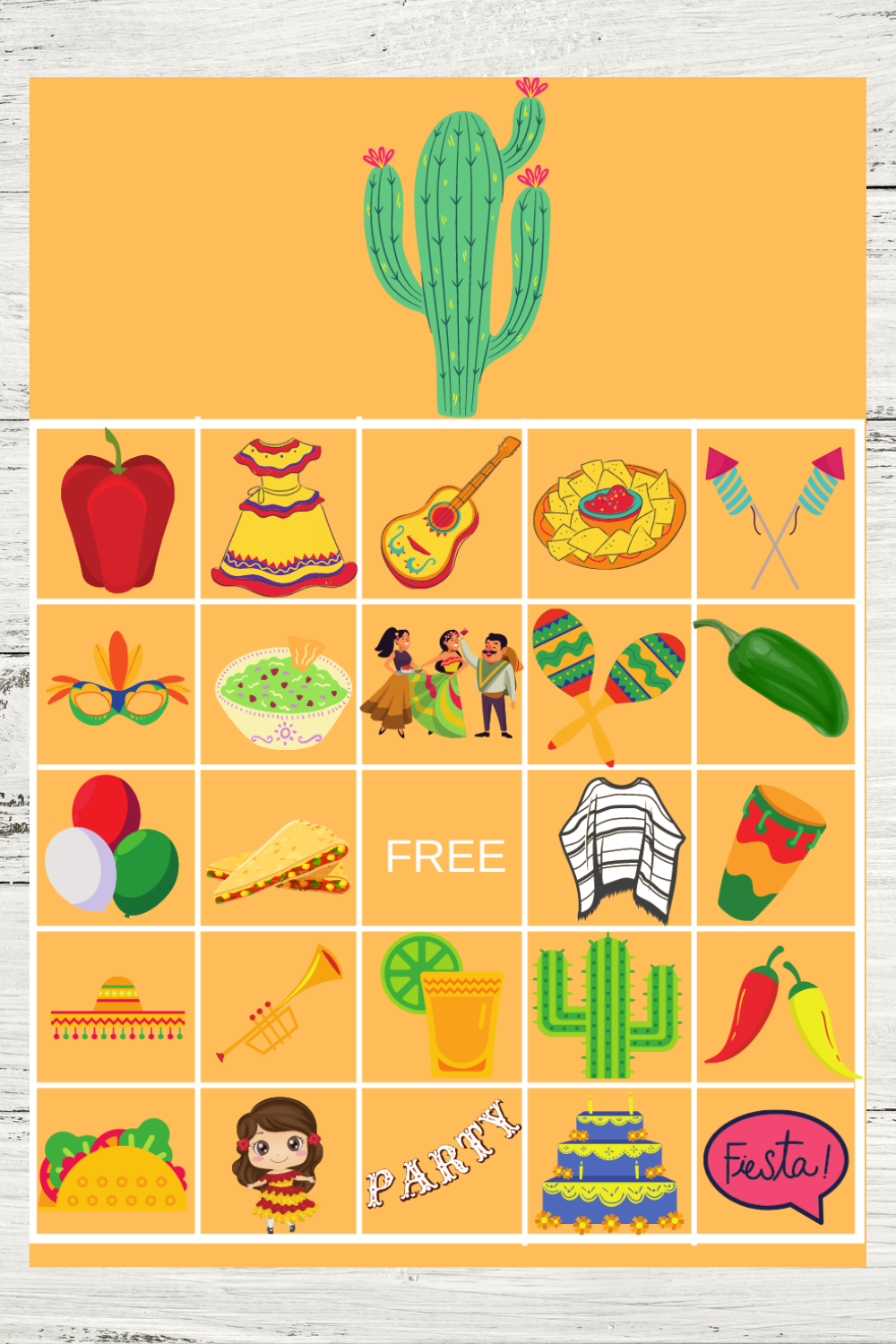 fiesta themed birthday party activities for kids